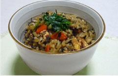玄米ひじきご飯